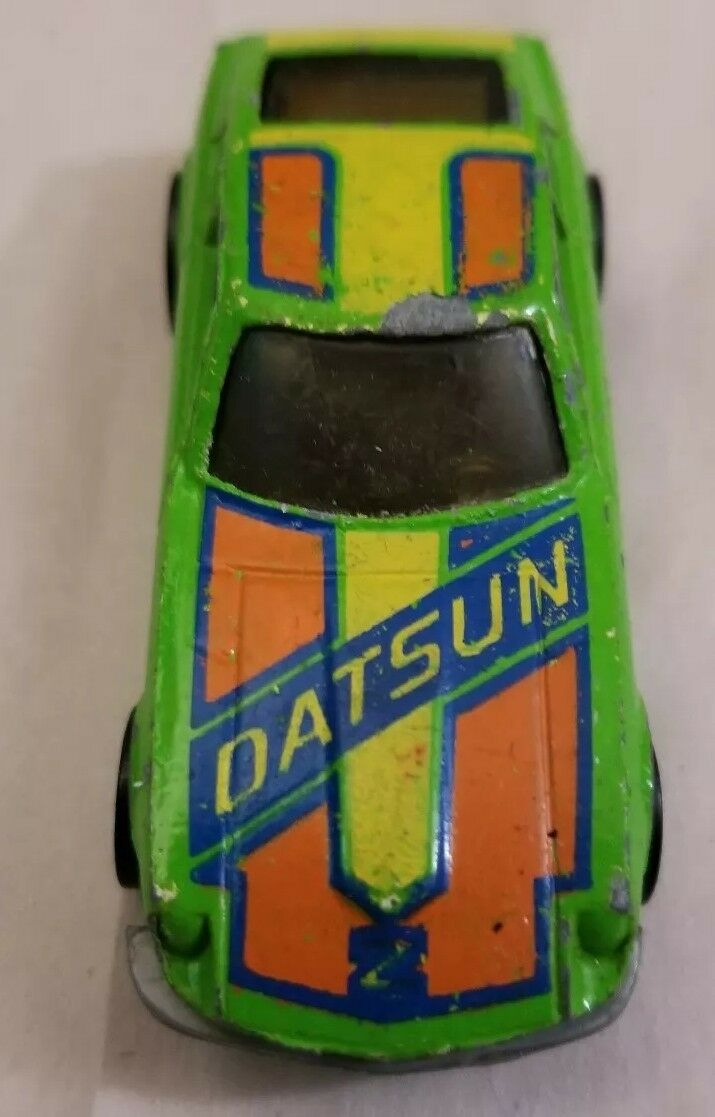 Hot Wheels Antiguo velocidad máquinas Datsun Z Whiz Raro Lt. verde 1983