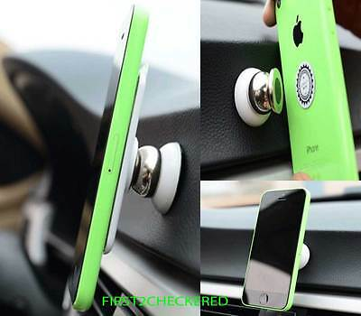 Magnetic Car Cell Phone Holder Mount Dash 360° Rotating For iPhone GPS Samsung