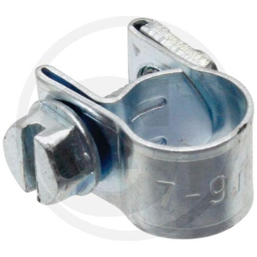 Schlauchschelle Ø 07-09mm/_Kraftstoffschlauch/_Gummischlauch/_Benzinschlauch/_Pöl