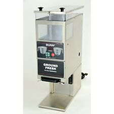Bunn G9 2t Dbc Portion Control Commercial Coffee Grinder 2 Hoppers