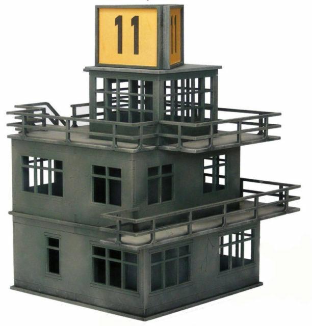 WW2 EUROPE RAF Air Control Tower 28mm Laser cut MDF Building Terrain N095