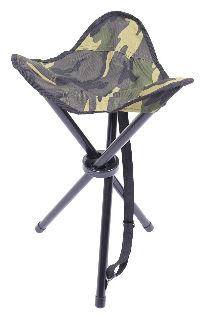 Army Military Outdoor colapsible stool Carry Strap Chaise Chaise Chaise Chaise Pliante Camouflage d9ebe3
