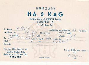 AA66-Carte-QSL-Radio-Amateur-Operateur-HA5KAG-de-HONGRIE-a-BUDAPEST