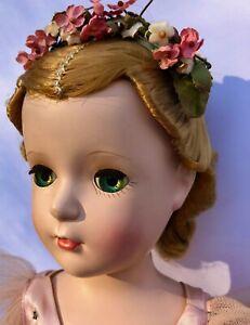 Vintage-1954-Madame-Alexander-Margot-Margaret-Ballerina-Doll-18-inches-tall