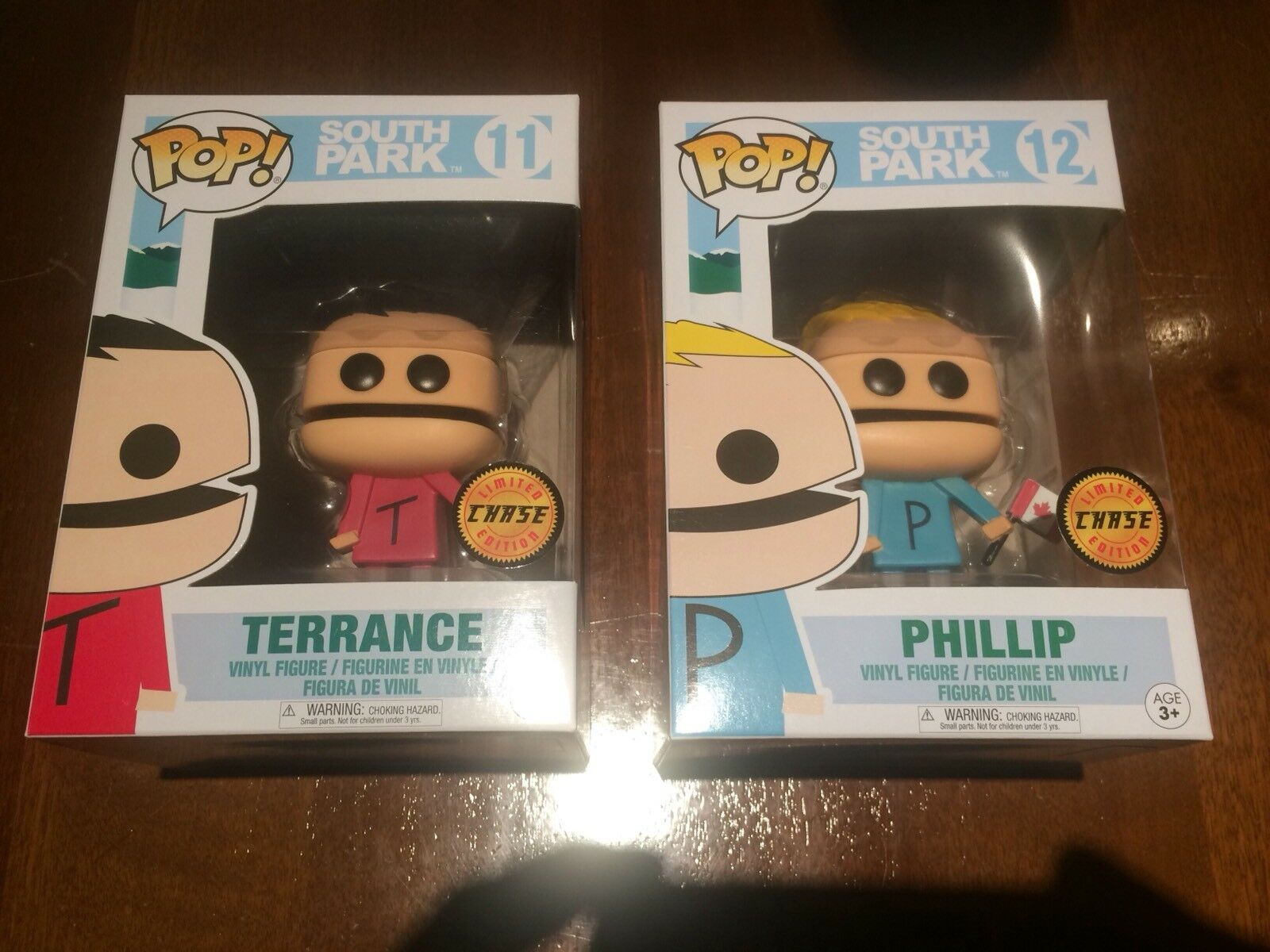 Funko Pop South Park TERRACE + PHILLIPS Chase Version New