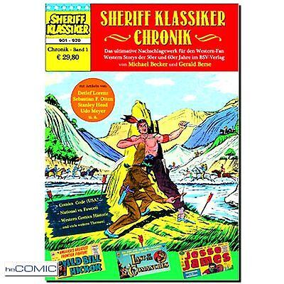 Sheriff Klassiker Chronik 1 Band 901 - 920 BSV SEKUNDÄR COMIC Michael Becker