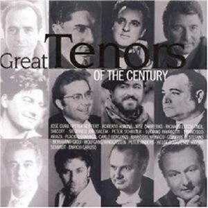 L-Pavarotti-P-Reggie-P-diversamente-Great-tenori-of-the-Century-Classica-CD-NUOVO