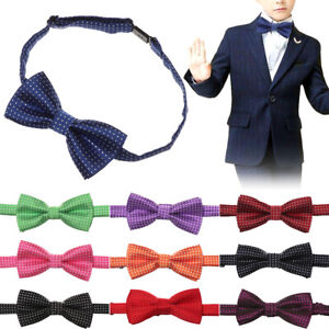 Classical-Children-Formal-Cotton-Bow-Tie-Kids-Wave-Dot-Bowties-Colorful-Bow-knot