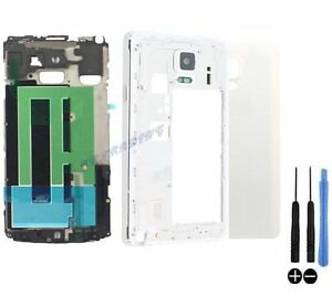 COQUE-COMPLETE-REMPLACEMENT-ARRIERE-CHASSIS-SAMSUNG-GALAXY-NOTE-4-N910F-BLANC