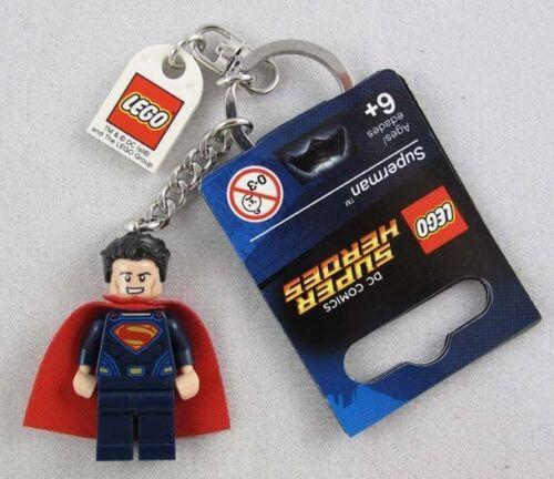 Lego DC Super Heroes Superman 2016 Key Chain New