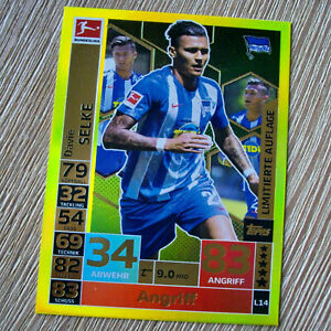 Match-Attax-2018-2019-18-19-Hertha-BSC-Limitierte-Auflage-L14-Davie-Selke