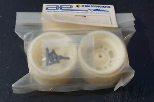 Team-Associated-rear-rims-80er-anos-recien-rare-vintage-llantas-trasera