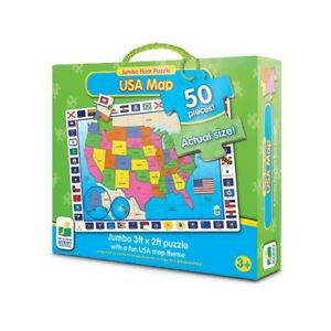 Details About The Learning Journey Jumbo Floor Puzzles Usa Map