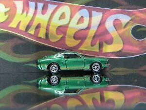 Hot Wheels 1968 Ford Mustang Fastback Green Ebay