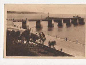 Royal-La-Nouvelle-Jetee-France-Vintage-Postcard-369a