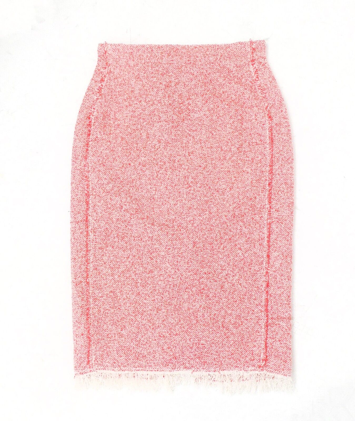 Rebecca Taylor   Hot Pink Tweed Skirt Size 6