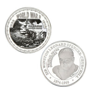 WR-Attack-on-Pearl-Harbor-Silver-Collectors-Coin-Medal-1941-World-War-2-Memorial