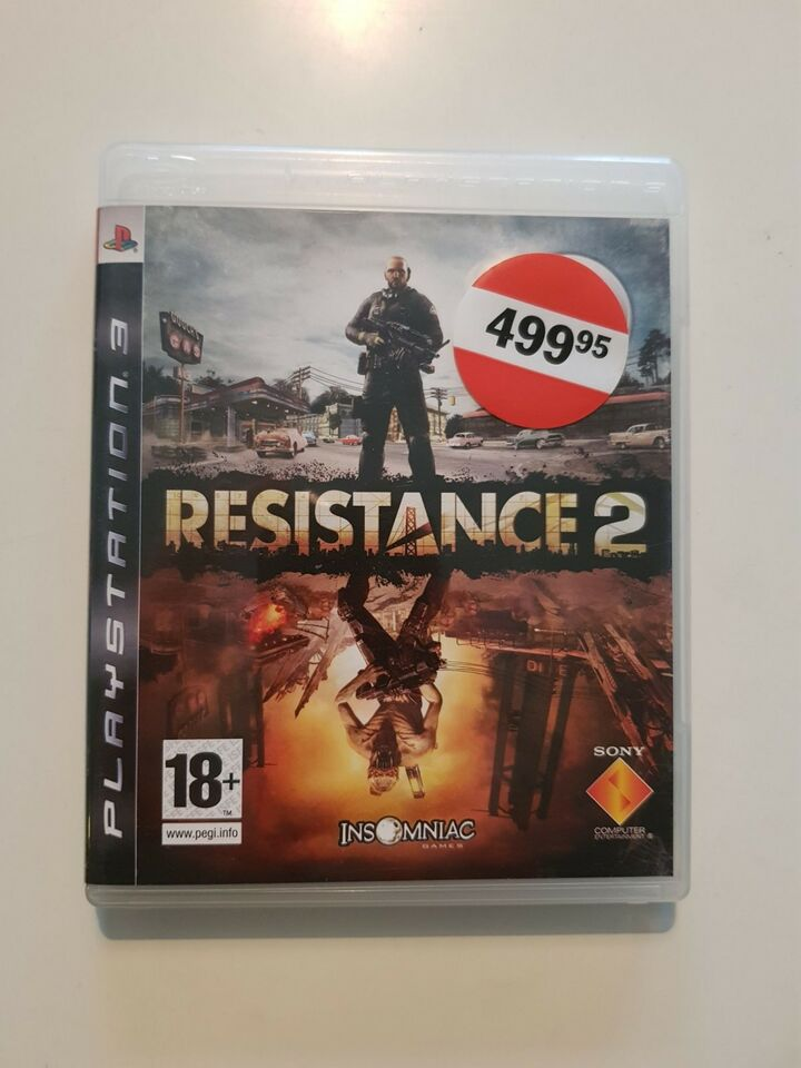Resistance 2, PS3