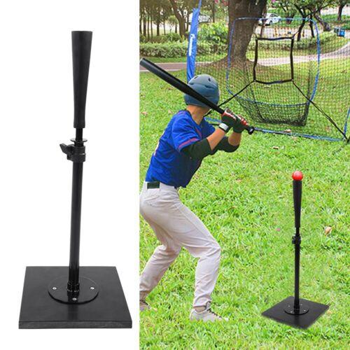 Portable Heavy Duty Baseball Softball Iron T Stand Batting Tee Training Aid USA