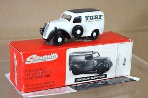Somerville Models 1949 Fordson E494c 5cwt Van Turf Cigarettes de qualité supérieure Na