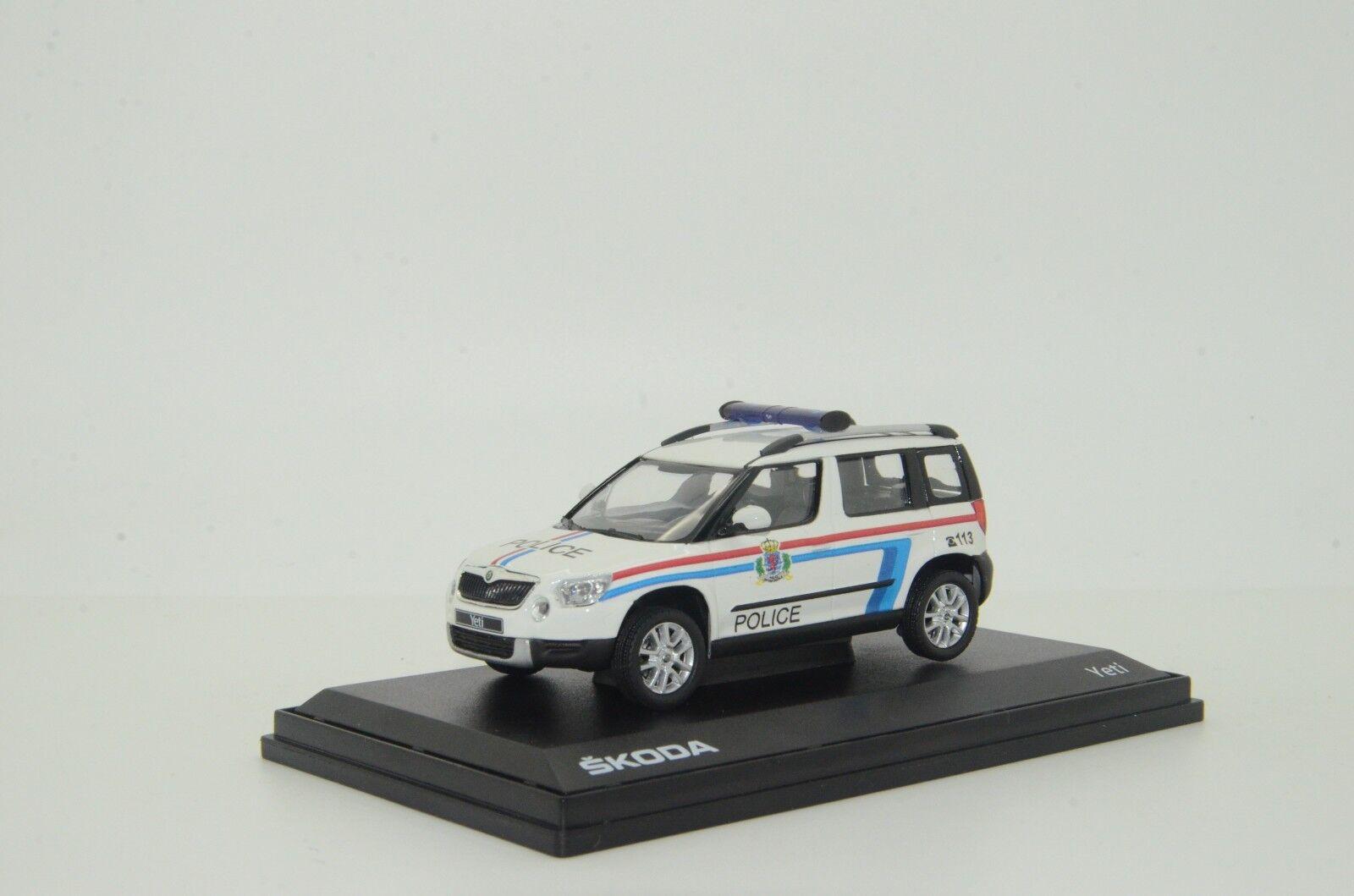 SKODA Yeti Luxemburgo policía Hecho a Medida 1 43