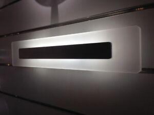 Luce a led da parete muro lampada faretto calda fredda applique