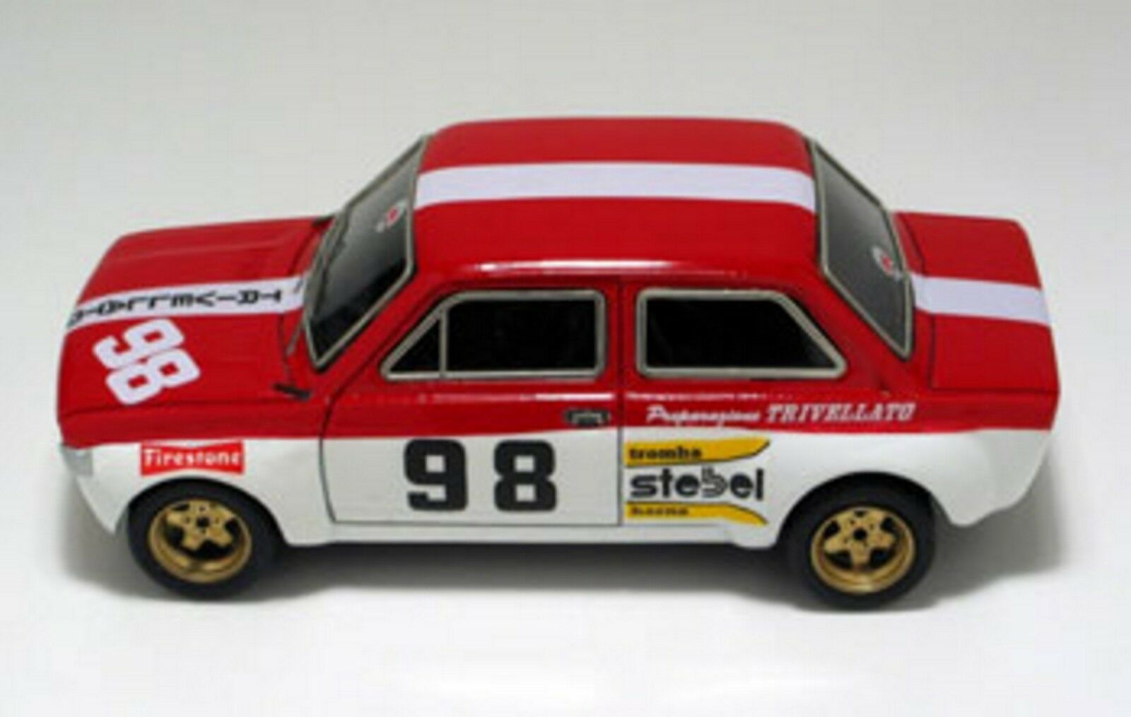 +kit Fiat 128 1100 GR.2 Team Trivellato Monza 1973 - arena models kit 1 43