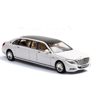 Pull Back 1:32 Mercedes Maybach Benz S600 Diecast Model Car Toy Sound /& Light
