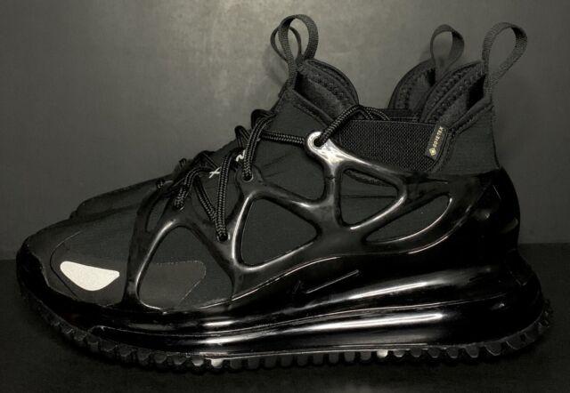Nike Air Max 720 Horizon Gore-Tex Triple Black BQ5808-002 Men's Size 8.5