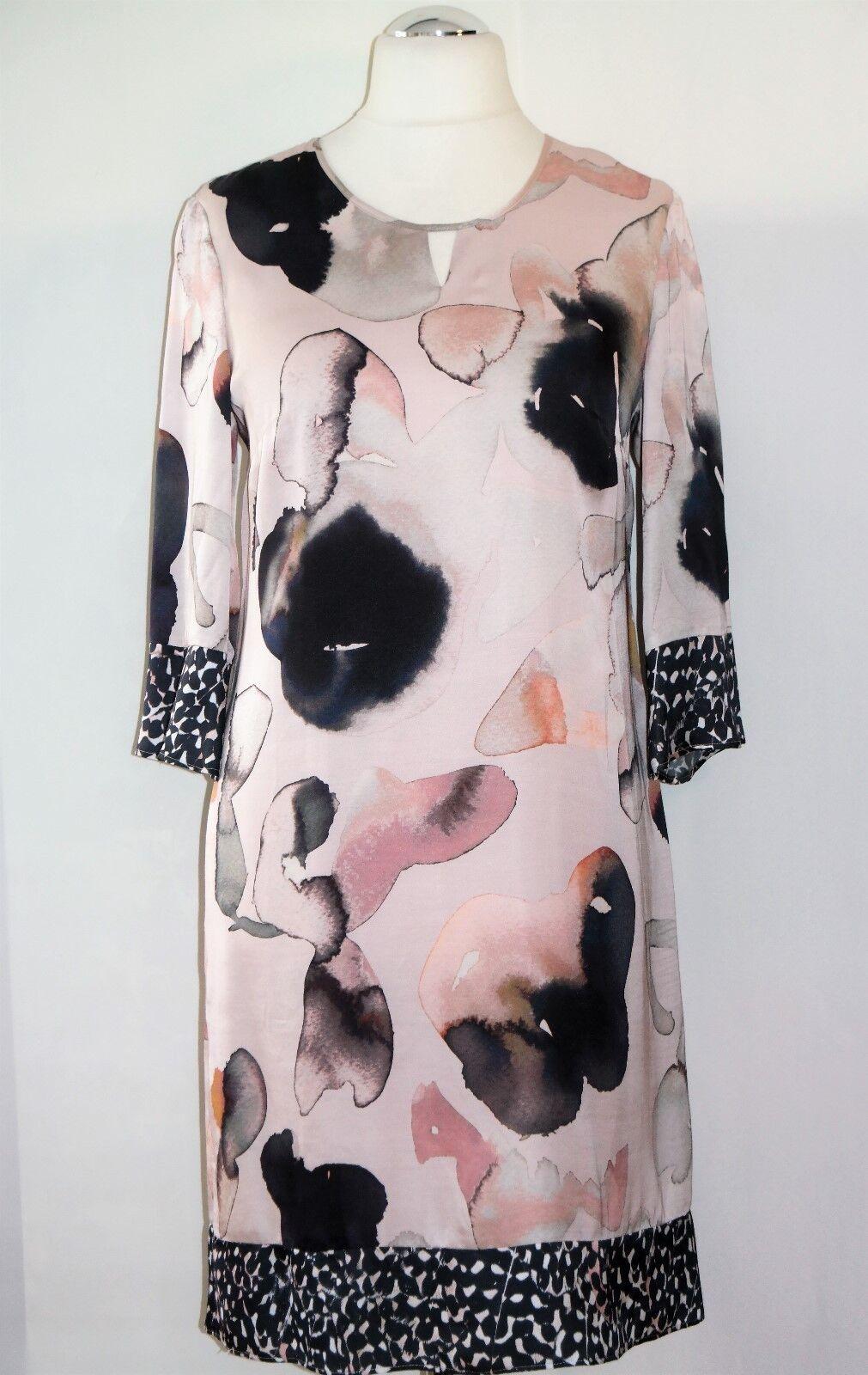 Festliches Gerry Weber Satinkleid Gr. 40 Etuikleid Damenkleid Kleid Coctailkleid