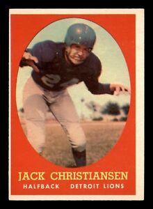 JACK-CHRISTIANSEN-1958-TOPPS-1958-NO-70-EXMINT-22705