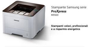 STAMPANTE-SAMSUNG-SL-M3320ND-x-RIGENERATORE-LAN-FRONTE-RETRO