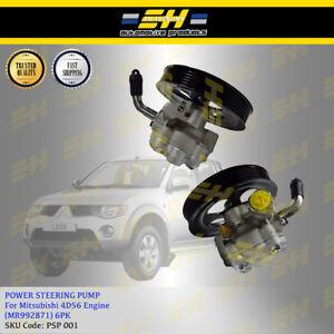 Details about Power Steering Pump For Mitsubishi Triton Storm L200 4D56 6PK  (MR992871 / KB4T)