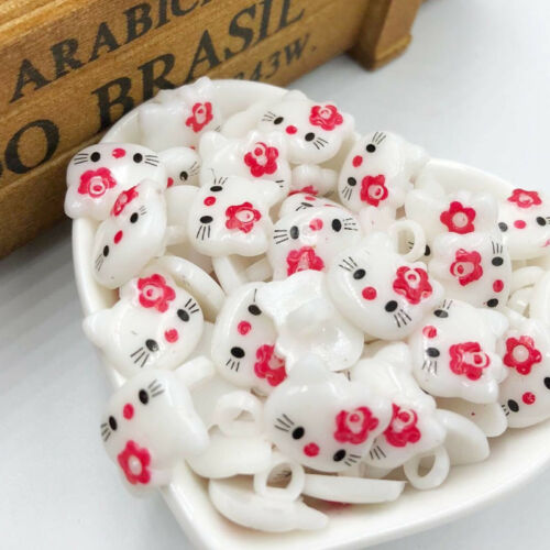 100PCS Red HelloKitty Plastic Buttons Children/'s Clothing Accessories PT187