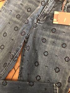 Jackie Sundance Driftwood Tags Broderet Med Denim Ny Kvinder Jeans qEH5wxnEA