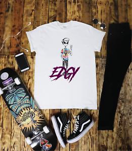 Edgy-Alien-T-Shirt-Tumblr-Hipster-Unisex-Gift-Festival-Funny-Skater-Thrash-Van