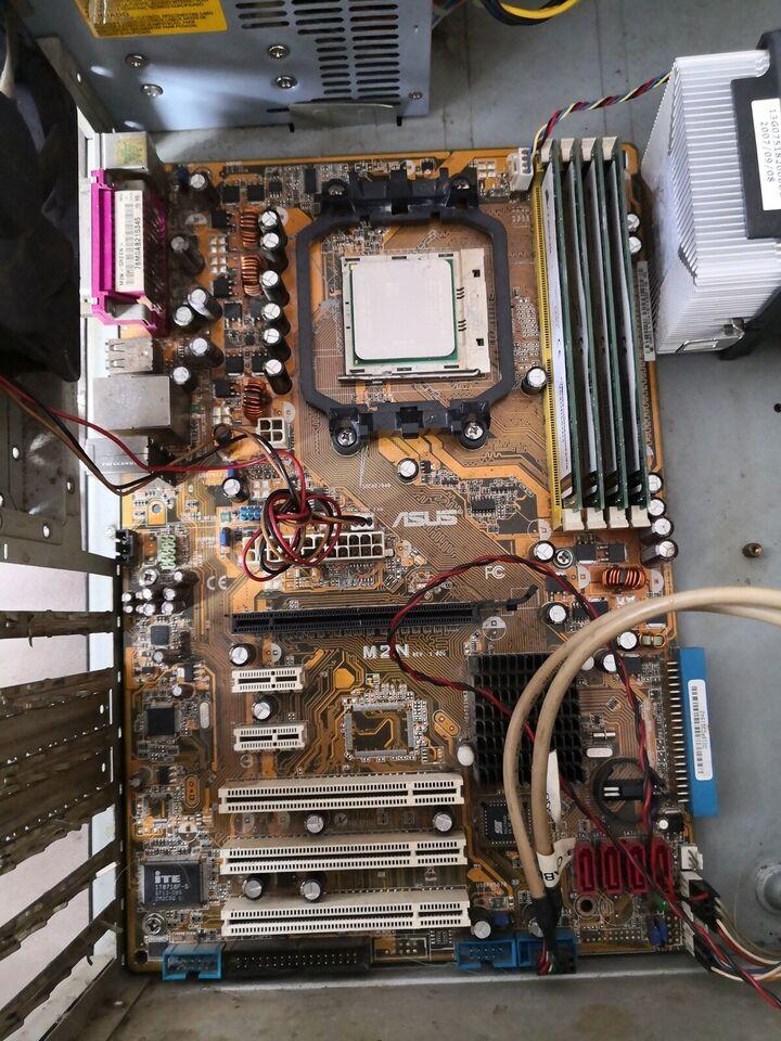 Bundkort processor og ram, Asus, M2N