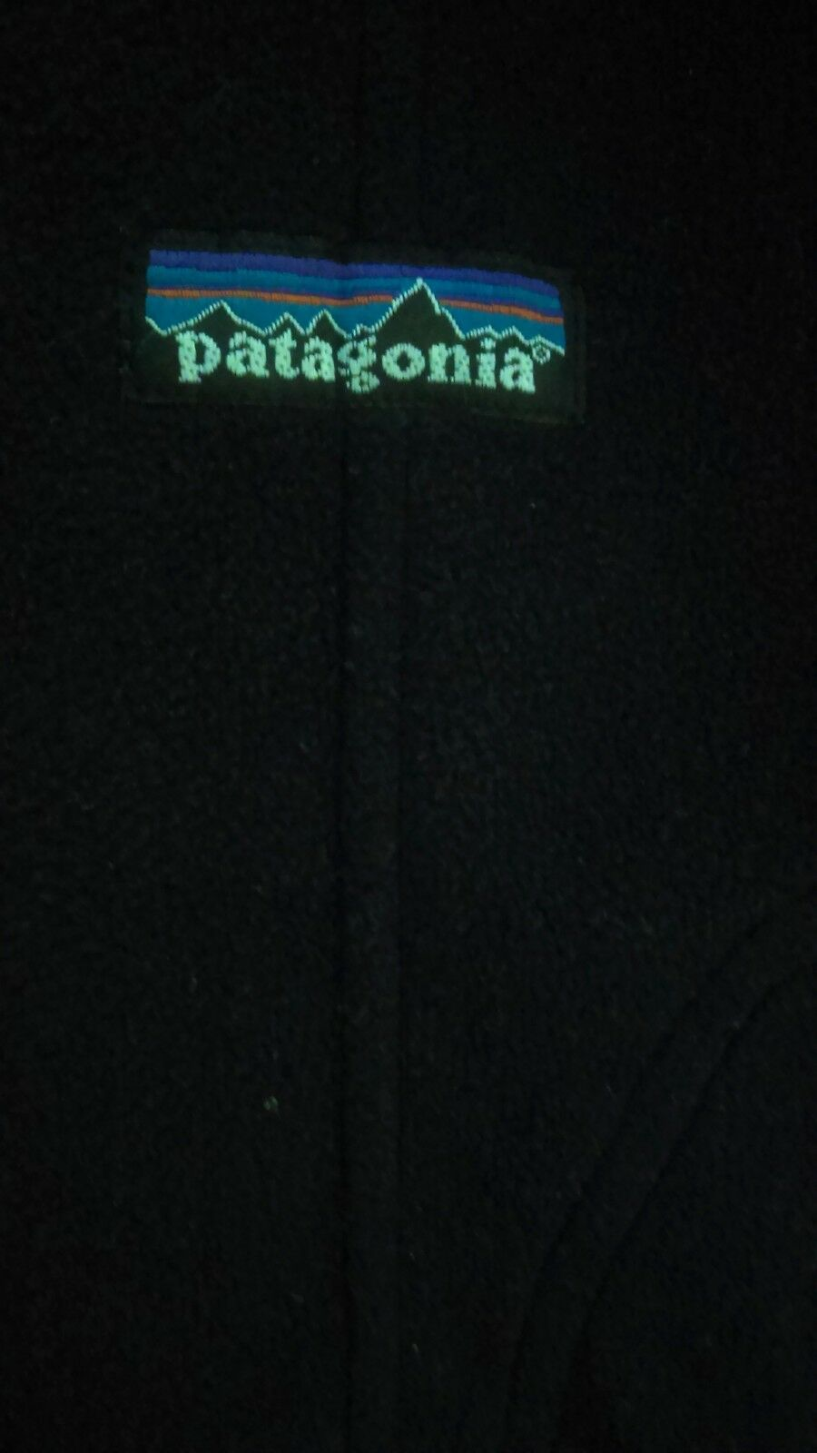 ORG.  Herren Patagonia 2005 XXX STATE OF THE UNION ICE CUBE Hip Hop Winter fleece L