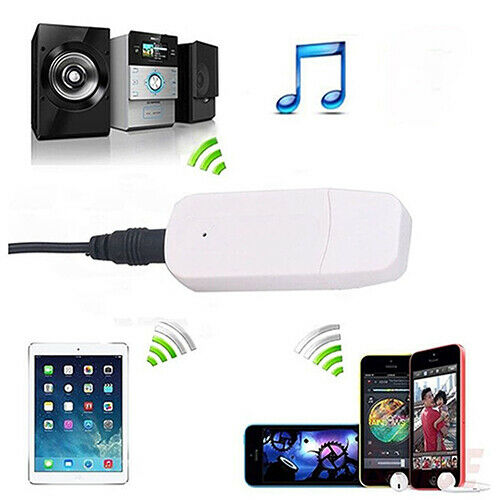 BG/_ Mini Wireless Bluetooth 3.5mm USB Aux Audio Music Receiver Transmitter Adapt