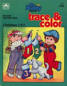 My Buddy Coloring Book Rare Ebay