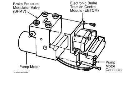 ABS EBTCM EBCM module repair for Cadillac Catera