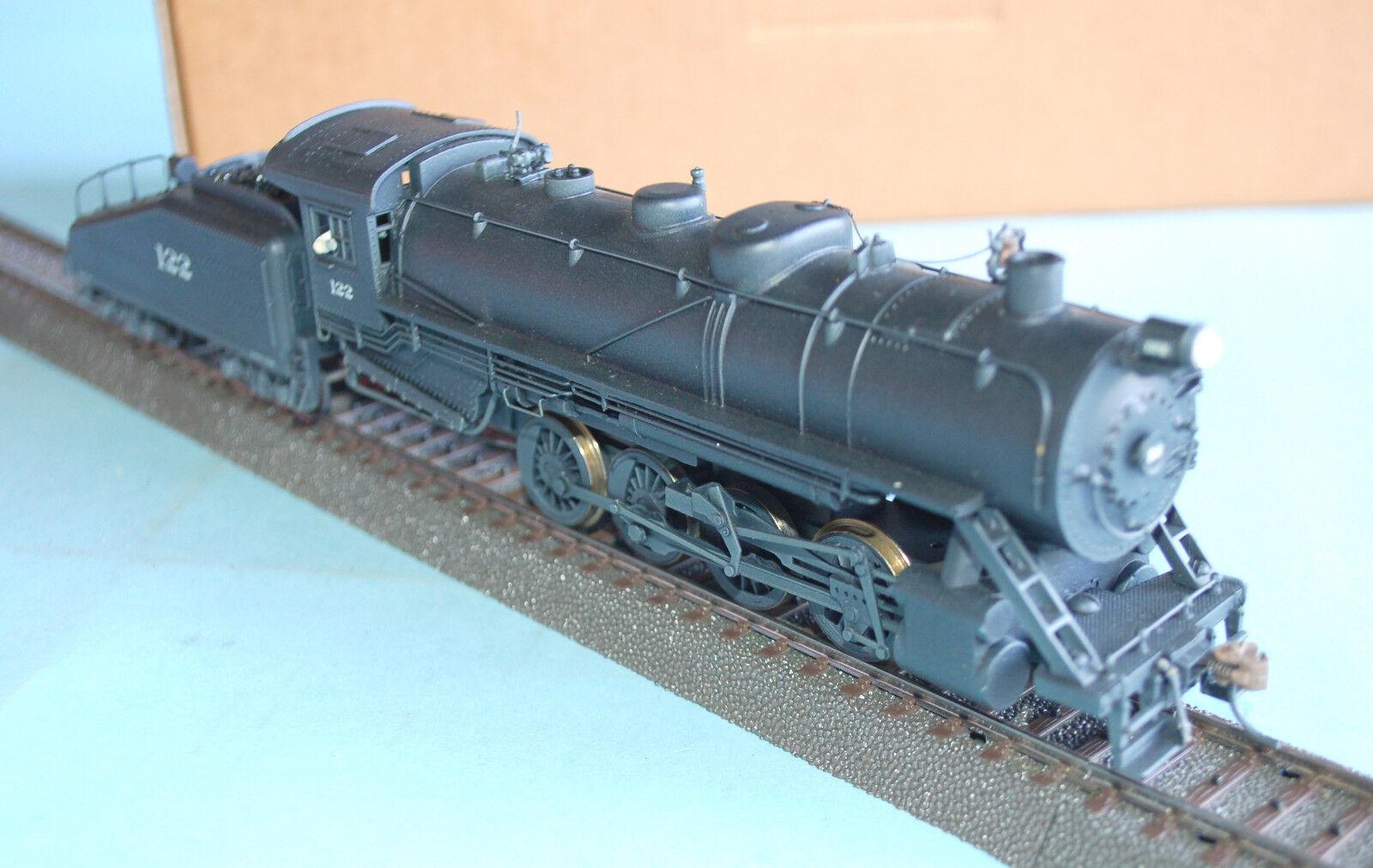 Locomotiva a vapore 0-8-0  122 USA - scatola - artigianale su base Mantua