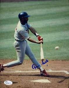 Ozzie-Smith-Jsa-Cert-1-1-Original-Image-8x10-Photo-Authentic-Autograph