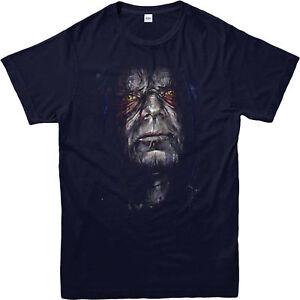 Star-Wars-T-Shirt-Emperor-Palpatine-Villian-Gift-Unisex-Adult-amp-Kids-Tee-Top