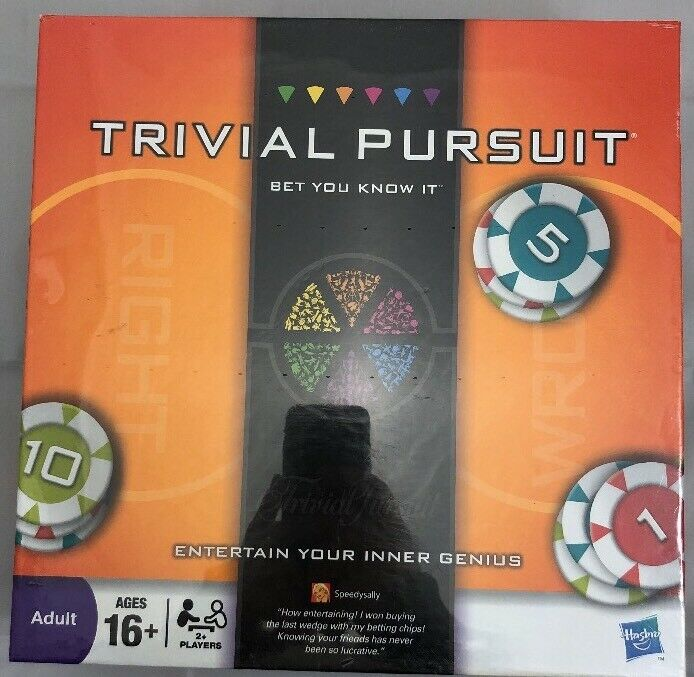 Trivial Pursuit Game - Bet You Know It Edition - (2009) New Sealed
