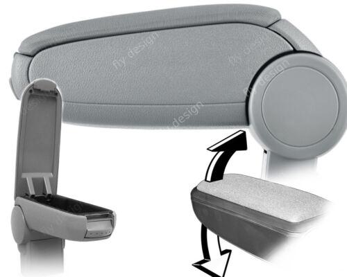 Auto Armlehne geeignet für VW Passat B5 3B Grau Stoff//Textil Lehne