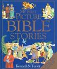 My First Picture Bible Stories, Catholic Edition by Kenneth N. Taylor (2000, Hardcover)