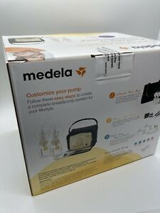 New Medela Advanced Personal Double Breast Pump Set Sealed Free