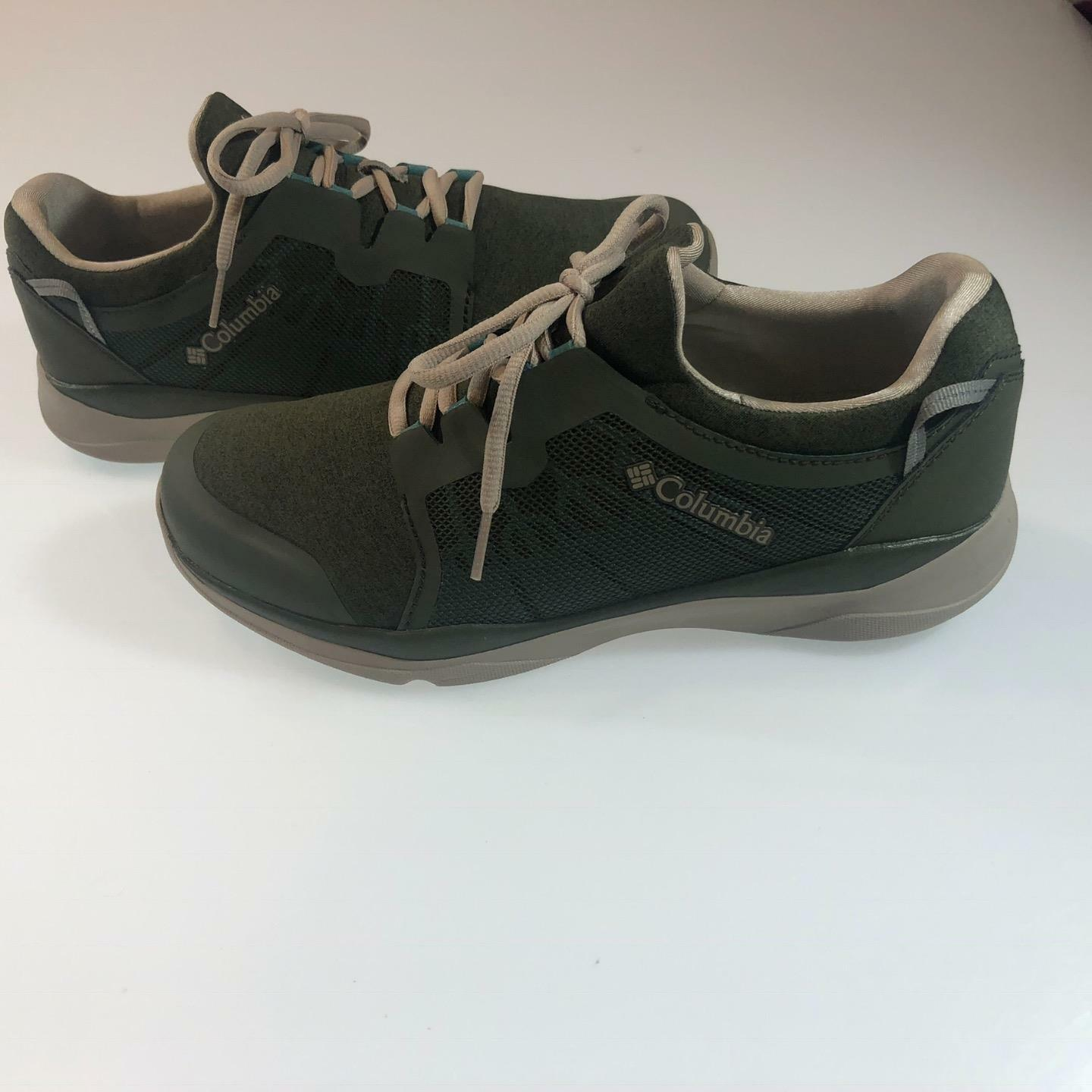 Columbia Donna ATS Trail LF92 Shoes size 10 Nori/Teal Lightweight Sneaker