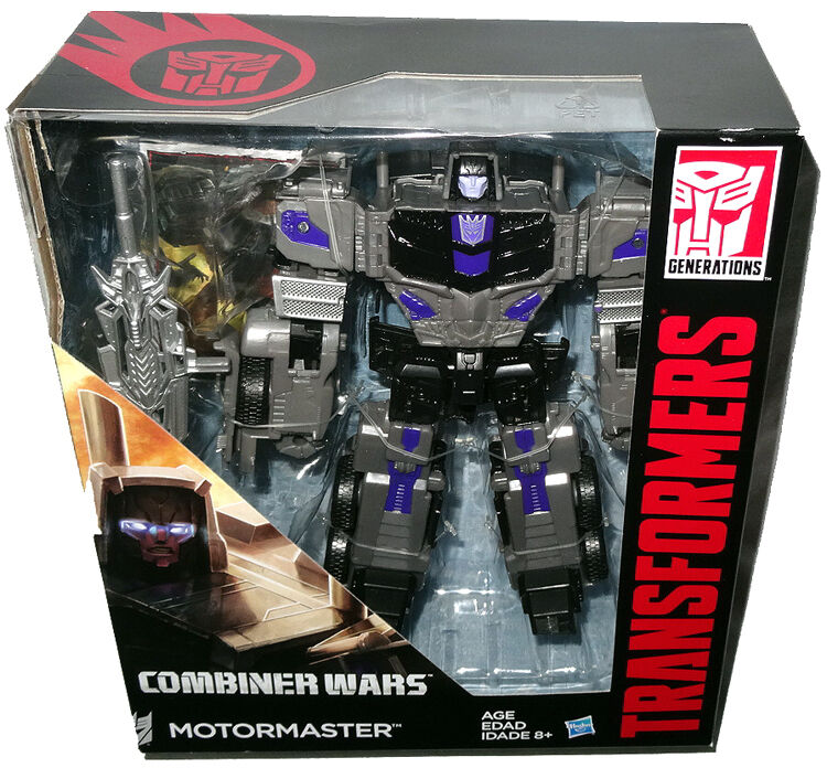 Transformers Generations Combiner Wars Motormaster Voyager Action Figure MIB Toy